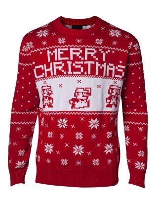 Jultröja Nintendo Super Mario Christmas