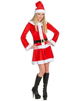 Mrs. Santa Tomtedräkt 4 Delar