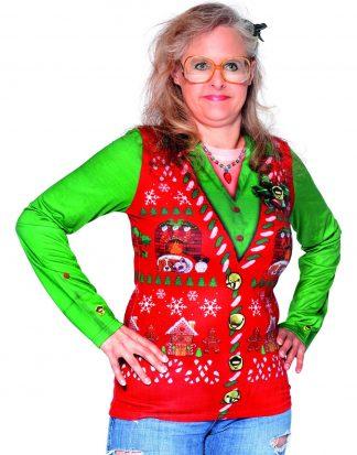 Fotorealistisk Jultröja till Dam