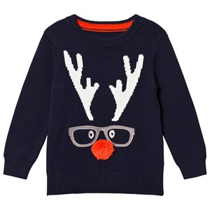 Tom Joule Navy Chrissie Rudolph Knitted Jumper 3 years