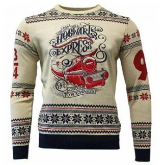 Harry Potter / Christmas jumper / Hogwarts Ex. L