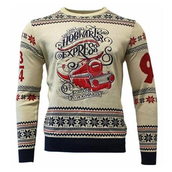 Harry Potter / Christmas jumper / Hogwarts Ex. M
