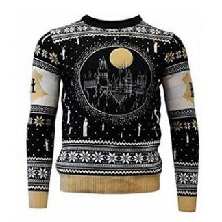 Harry Potter / Christmas jumper / Hogwarts LED L