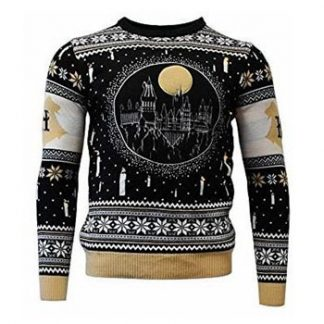Harry Potter / Christmas jumper / Hogwarts LED S