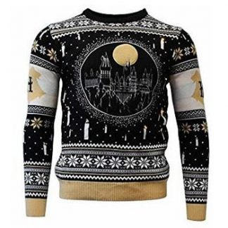Harry Potter / Christmas jumper / Hogwarts LED X