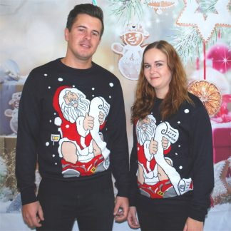 Jultröja med tomtemotiv 2017