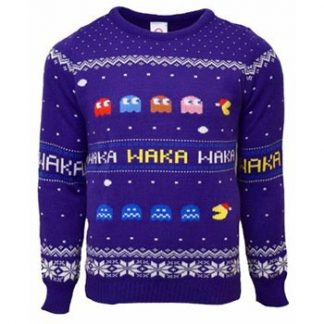 Pac-Man / Christmas jumper XL