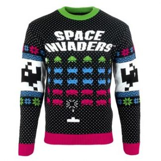Space invaders / Christmas jumper L