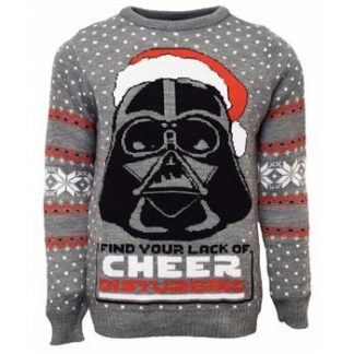 Star Wars / Christmas jumper / Darth Vader M