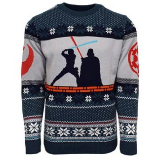 Star Wars - Luke vs Darth Christmas jumper (XS)
