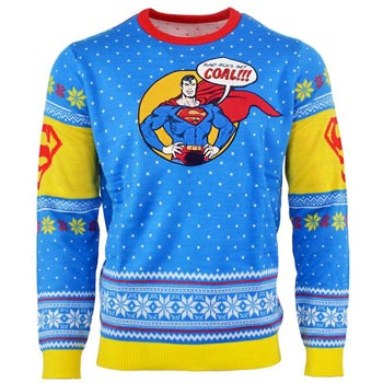 Superman / Christmas jumper / Bad guys L