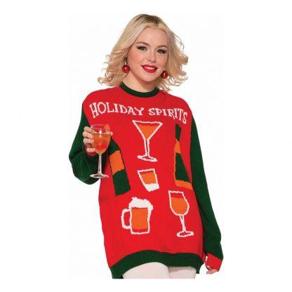 Jultröja Holiday Spirits - Medium