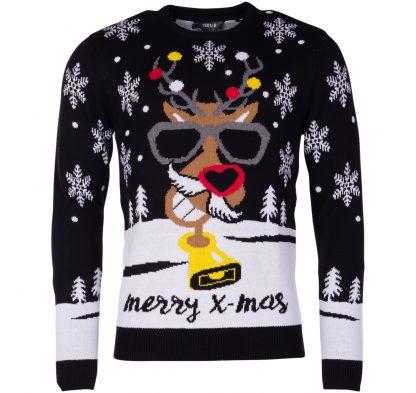 knit - tage, black, xl, tröjor