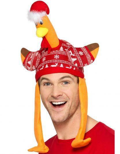 Julkalkon - Kalkonformad Hatt med Jultröja
