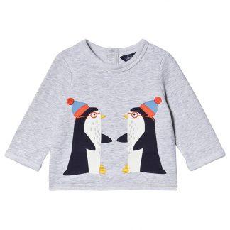 Joules Pingvin Boo Baby Tröja Grå 3-6 months