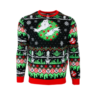 Jultröja - Ghostbusters Christmas Jumper (L)