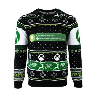 Jultröja - Xbox One Achievement Unlocked Christmas (M)