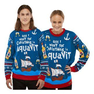 All I Want is Aquavit Jultröja - Medium