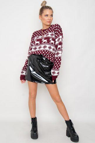 Christmas Sweater - Merry Wine