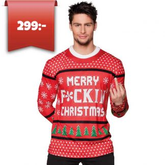 Jultröja Merry fucking Christmas-M