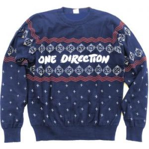 One Direction: Unisex Sweatshirt/Christmas Jumper (Medium)