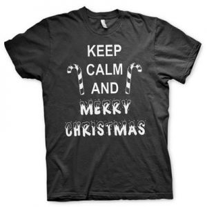 Keep Calm And Merry Christmas t-shirt (S)