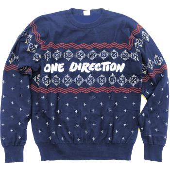 One Direction: Unisex Sweatshirt/Christmas Jumper (Small)
