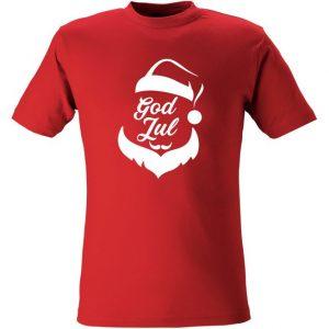 T-Shirt God Jul Tomte   Barn