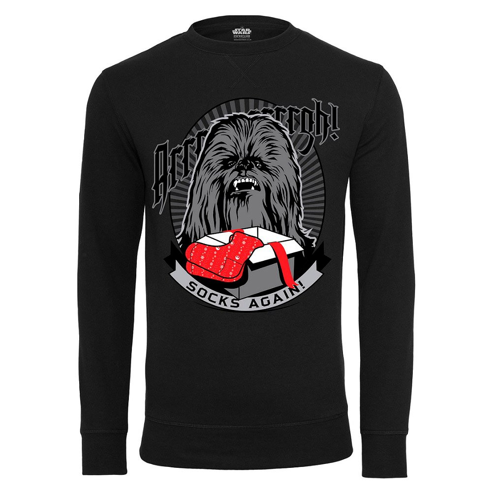 Collegetröja Star Wars Chewbacca Socks Again Jul